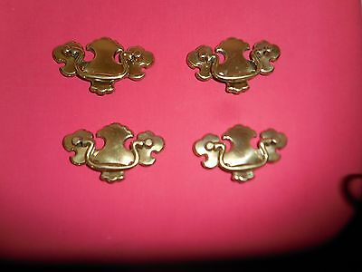Vintage Furniture/drawer/cabinet Pull Handle Lot Of 4