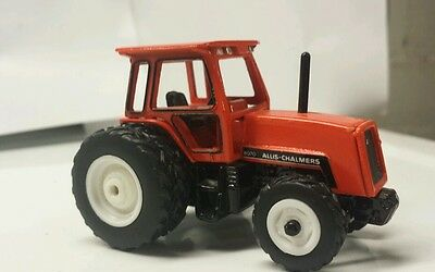1/64 Custom Agco Allis Chalmers 8070 Tractor With Fwa And Duals Ertl Farm Toy