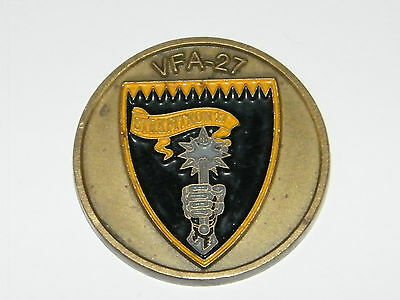 Medaillen,Navy,Strike Fighter Squadron 27,VFA 27,Royal Maces,Coin,Münze