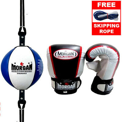 FLOOR TO CEILING BALL + BOXING BAG GLOVES - boxing speed ball training mitts