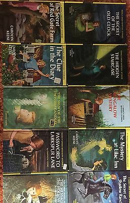 Vintage Nancy Drew Mystery Novels Lot Of 45 Excellent Cond FREE SHIP