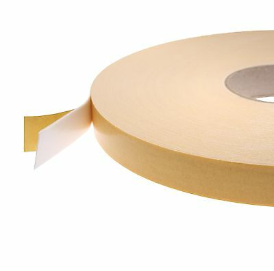 66117 White Double Sided Foam Tape 1mm/2mm Thick x 50M; 3mm Thick x 25M Free P&P