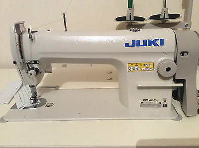 Juki Ddl 8100E Industrial Lockstitch Sewing Machine With Servo Energy Efficient