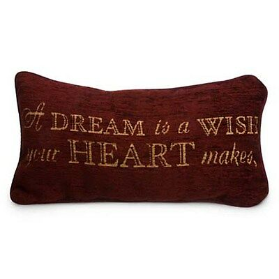 Disney Parks A Dream is a Wish Your Heart Makes Throw Pillow Cinderella