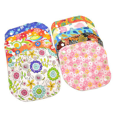 Cotton Menstrual Period Pads Sanitary Panty Liner Reusable Washable Random 1 PC