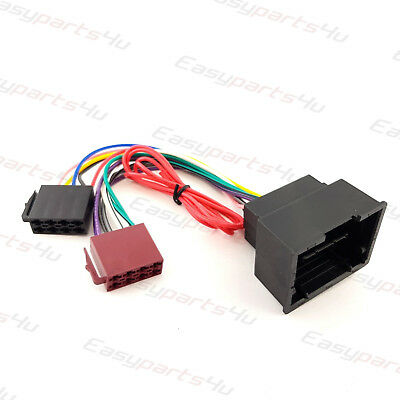 ISO to Vauxhall Opel Insignia 2009 Radio Stereo harness adapter wiring connector
