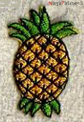 "patch 795- Ecusson brodé patche ""mini fruits : ANANAS "" thermo"