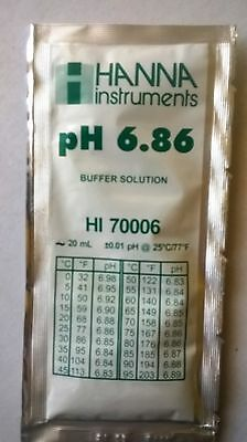 HANNA PH METER BUFFER CALIBRATION SOLUTION SACHET 6.86 pH - HI 70006 HI-70006