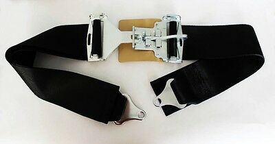 """NEW! Mustang Shelby GT350 Cobra GT40 Racing Vintage Style Seat Belts 3"""" 68"""" Long"""