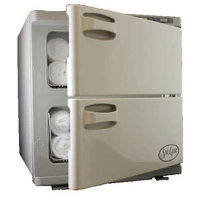 Spa Luxe Hot Towel Cabinet - Double Towel Warmer Cabi (SL32) Spa Equipment New