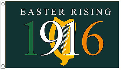 Ireland Easter Rising Centenary 1916 to 2016 5'x3' Flag