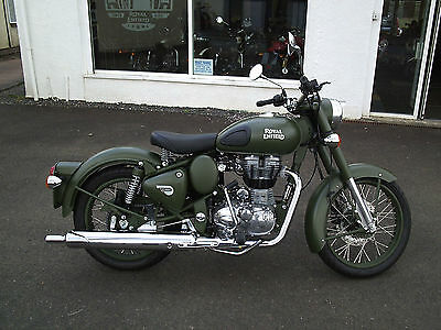 Royal Enfield Bullet 499cc Classic 500 EFI, Pre registered
