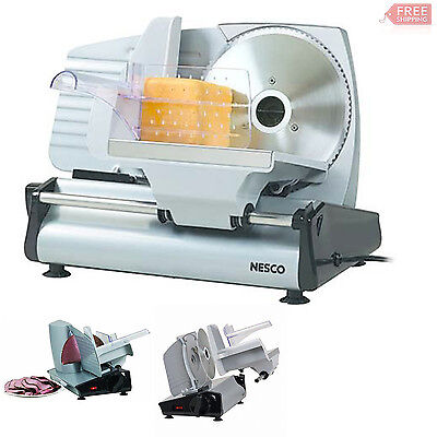 Commercial Slicer Machine Stainless Steel Food Electric Slicing Knife Cut Meat