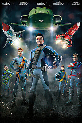Thunderbirds Are Go - Tv Show Poster / Print (Characters)