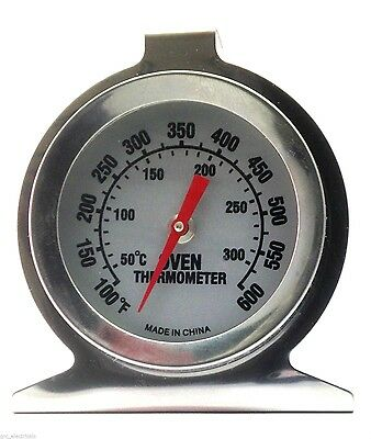 Stainless Steel BBQ Thermometer Temperature Gauge Quality 300ºC , 600ºF