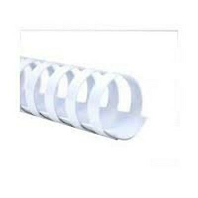 ACCO Pro Binding Combs Plastic 38mm for 330 Sheets of A4 White Pack 50 4400334