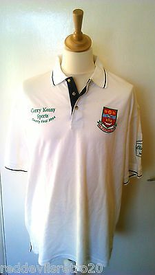 Ballina Stephenites (Mayo) GAA Official Gaelic Football Polo Shirt (Adult Large)