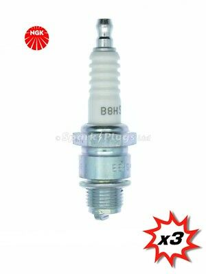 3x NGK B8HS Spark Plug 5510. Set Of 3 Plugs. Fast Despatch