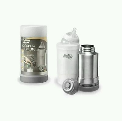 NEW..Tommee Tippee Closer to Nature Travel Bottle and Food Warmer