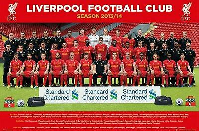 Liverpool Team Photo : 2013 - 2014 - Maxi Poster 61cm x 91.5cm new and sealed