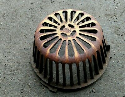 Reclaimed Vintage Industrial SMITH  Roof Drain Dome/steampunk material.