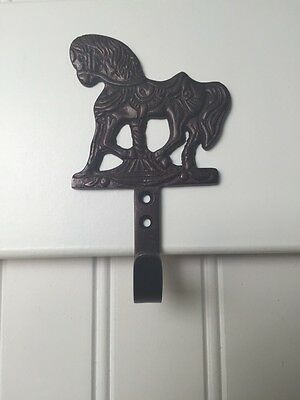 Oil Rubbed Bronze Decorative Rustic Carousel Pony Horse Hooks
