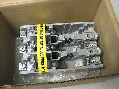 Allen Bradley 609-AOW manual starter innards
