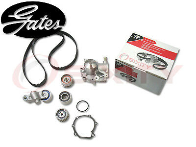 GATES TCKWP307 Timing Belt Water Pump Kit OE Engine Upgrade Tensioner Idler ro