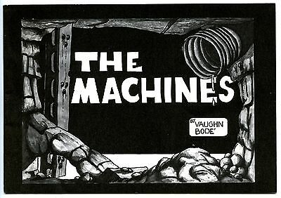 MACHINES - Digest-size comix - 1st printing - Bodé - Very scarce!