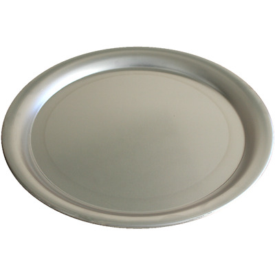 Lot de 5 plats à pizza aluminium ø 350 mm.