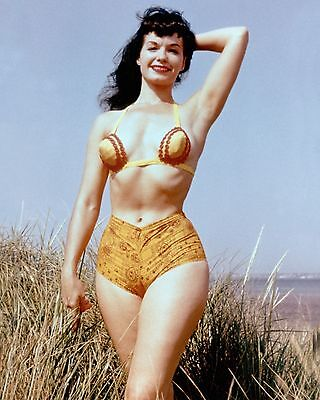 Bettie Page 45 (Playboy Pinup) Photo Print