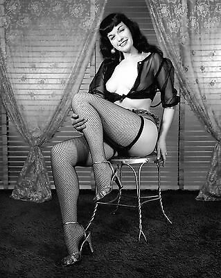 Bettie Page 42 (Playboy Pinup) Photo Print