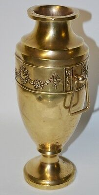 Antique Beldray English Art Nouveau Brass Vase Urn - FREE Postage [PL1915]