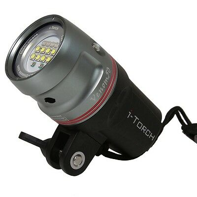 iDas i-Torch Venom 50 underwater Dive Torch Photo Video Light 5000 Lumens
