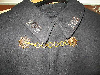 Ww2 Police Wool Cape Liverpool Kings Crown Button