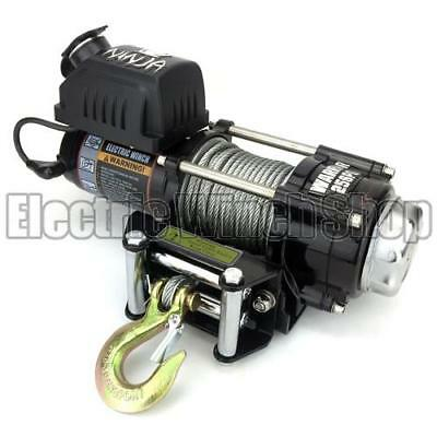 Warrior Ninja 2500 12v Electric Winch with Steel Cable