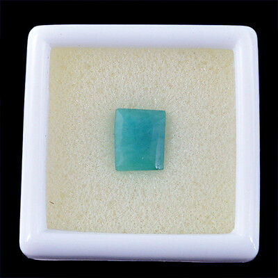 Superb Excellent 3.41 Cts Natural Rare Attractive Faceted Green Emerald Gem