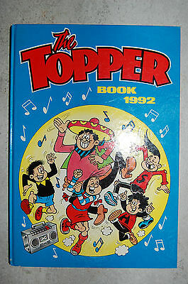 The Topper Book 1992 Annual D.C Thomson - 25 Years Old !