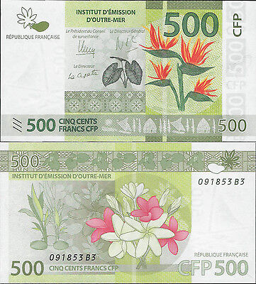 French Pacific Territories - Polynesia  2014 - 500 Francs - Pick 5 UNC