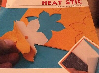 APPLIQUE-  HEAT STIC DOUBLE SIDE ADHESIVE BACKING SHEET 50cm x 100cm