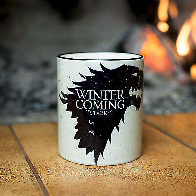 Game of Thrones Stark mug white Winter is coming YOUR NAME personalised cup gift