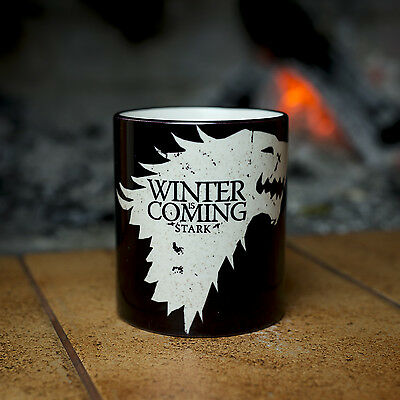Game of Thrones House Stark Winter is coming YOUR NAME Mug cup personalized gift