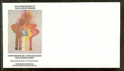 Robert Peak Limited Edition United Nations Wfuna Art Cachet Scarce Unserviced
