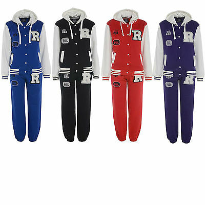 Boys Girls Kids Tracksuit Jogging Bottom & Top Children Jog Suit Age 7-13 Years
