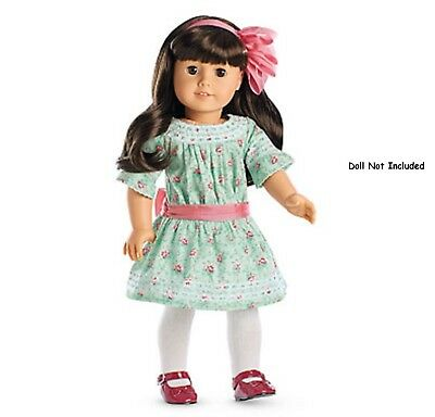 American Girl Samantha's Special Day Dress NIB Shoes Bow Stockings NRFB