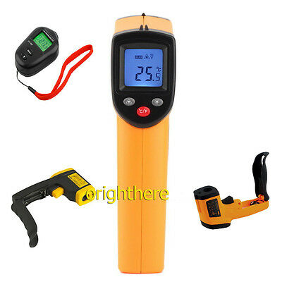 Nice Non-Contact LCD IR Laser Infrared Digital Temperature Thermometer Gun LOT F