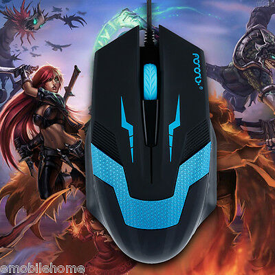 Sale!Optical 1600 DPI Wired 3D Competitive&Professional Athletics Gaming Mouse