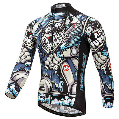 2016 Cycling Jersey Long Sleeve Sports Bike Team Clothing Bicycle Jerseys Wear
