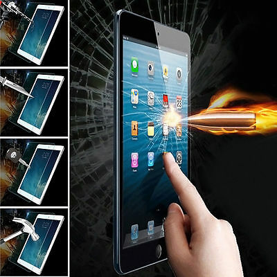 100% Genuine Tempered Glass cover Film Screen Protector - APPLE IPAD MINI 4 2015