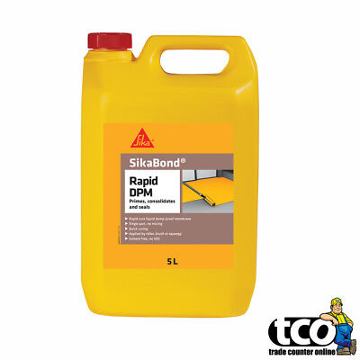 SIKA Rapid Liquid DPM 5Ltr Bottle (Damp Proof Membrane) 20m² Coverage